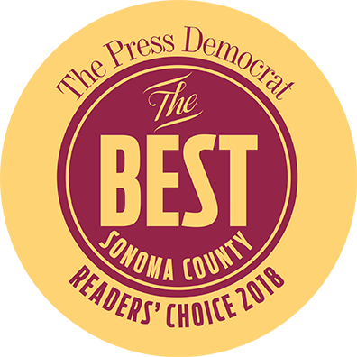Best of Sonoma County Readers' Choice 2018 Winner